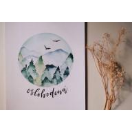 Oslobodená - Art print