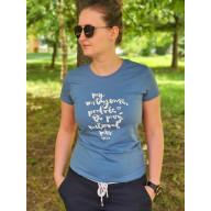 Dámske tričko - My milujeme