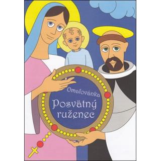 Maľovanka - Posvätný ruženec