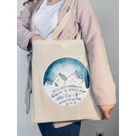 Plátená taška - Nech vrchy odstúpia