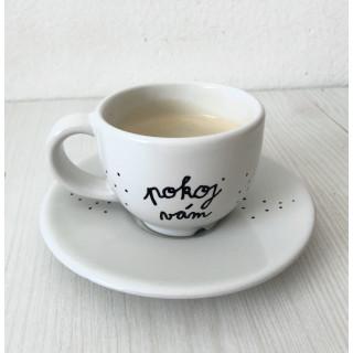 Biblická kávošálka - Pokoj vám