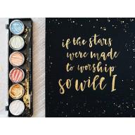 If the Stars - kaligrafický obraz