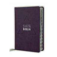 Biblia, Roháček, 2020, tmavofialová, pevná väzba, s indexmi