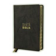 Biblia, Roháček, 2020, tmavohnedá, pevná väzba, s indexmi