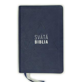 Biblia, Roháček, 2020, tmavomodrá, s indexmi