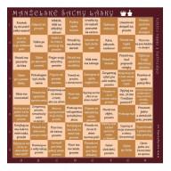 Manželské šachy lásky (hnedé)