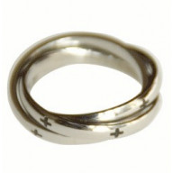 Tri v jednom - prsteň z chir. ocele (PR20)