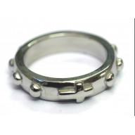 Ruženec - prsteň, chirurgická oceľ (PR25)