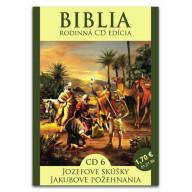 CD - Biblia6 - Jozefove skúšky, Jakubove požehnania