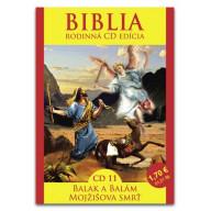 CD - Biblia11 - Balak a Balám, Mojžišova smrť