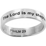 Žalm 23 - strieborný prsteň (PR39)