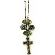 Antický kríž - bronzový náhrdelník (NH72)