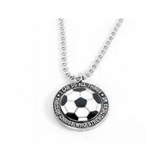 Futbalová lopta - guľôčkový náhrdelník (NH73)