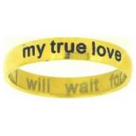 Moja pravdivá láska 2 - prsteň z chirurg. ocele (PR57)