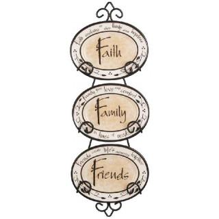 Ozdobné podnosy Viera, Rodina, Priatelia  (DK034)