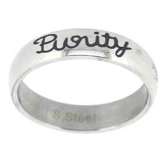 Čistota - prsteň z chirurgickej ocele (PR58)