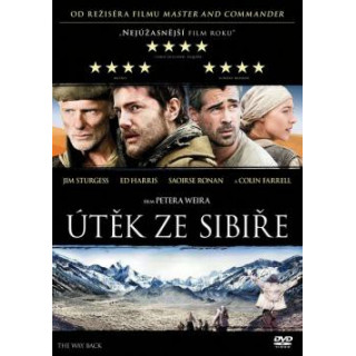 DVD - Útěk ze Sibiře