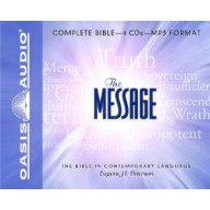CD - Message Bible-Complete-MP3 (New) (4 CD)