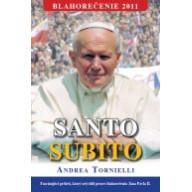 SANTO SUBITO - ihneď svätý - pevná väzba