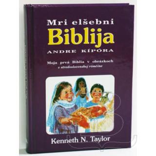 Moja prvá Biblia v obrázkoch - v stredoslovenskej rómčine