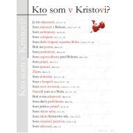 Plagát Kto som v Kristovi? (02) s pracovnými listami