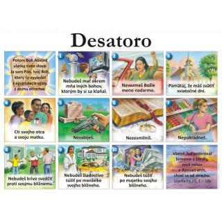 Plagát Desatoro (05) s pracovnými listami