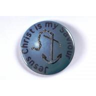 Odznak - Jesus Christ Is My Saviour, 3,7cm