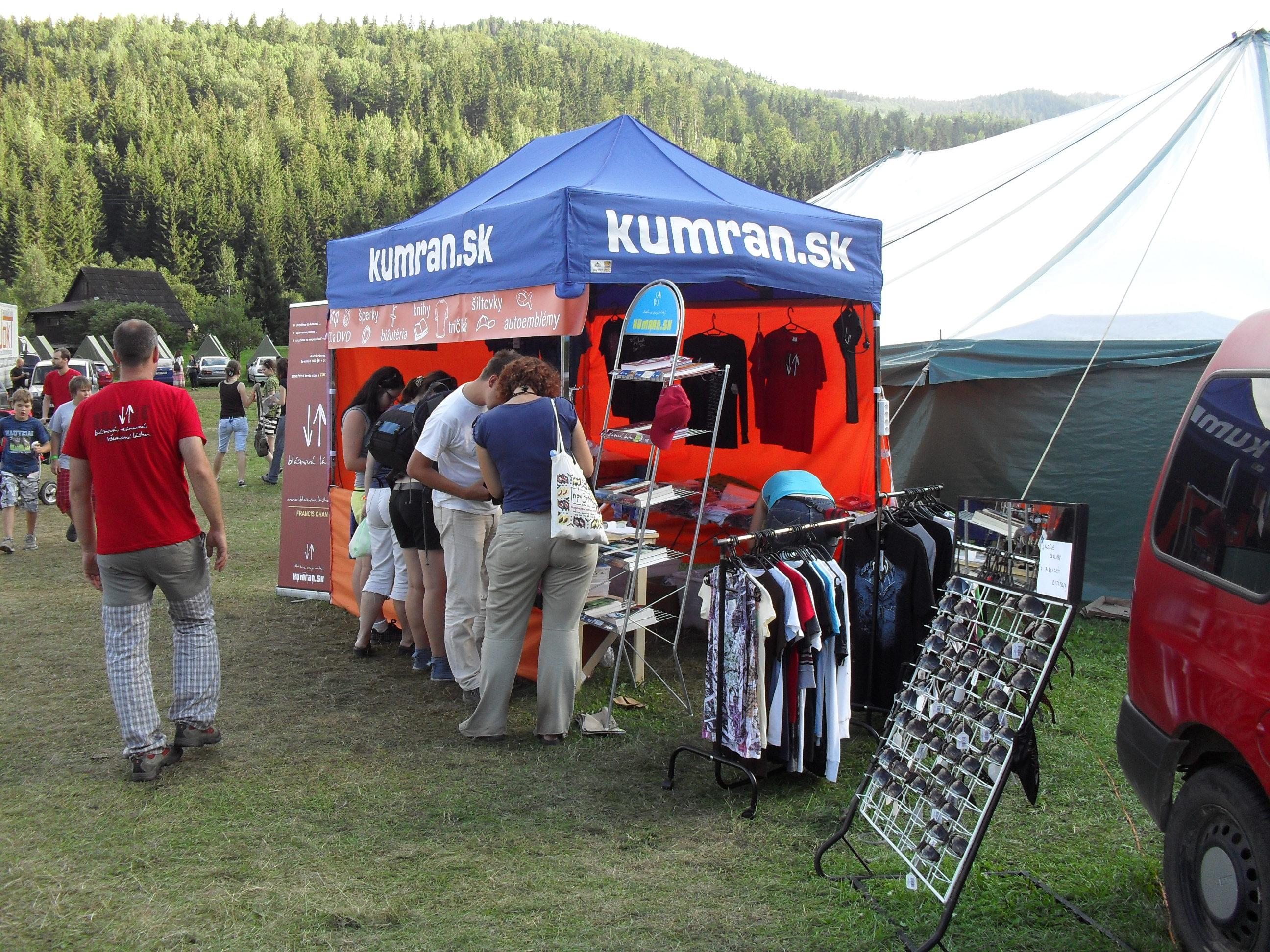 Kumran na Campfeste v roku 2011