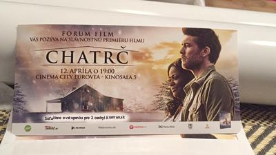 Súťaž o vstupenky na film Chatrč!